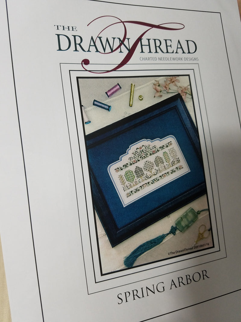 SPRING ARBOR ~ The Drawn Thread