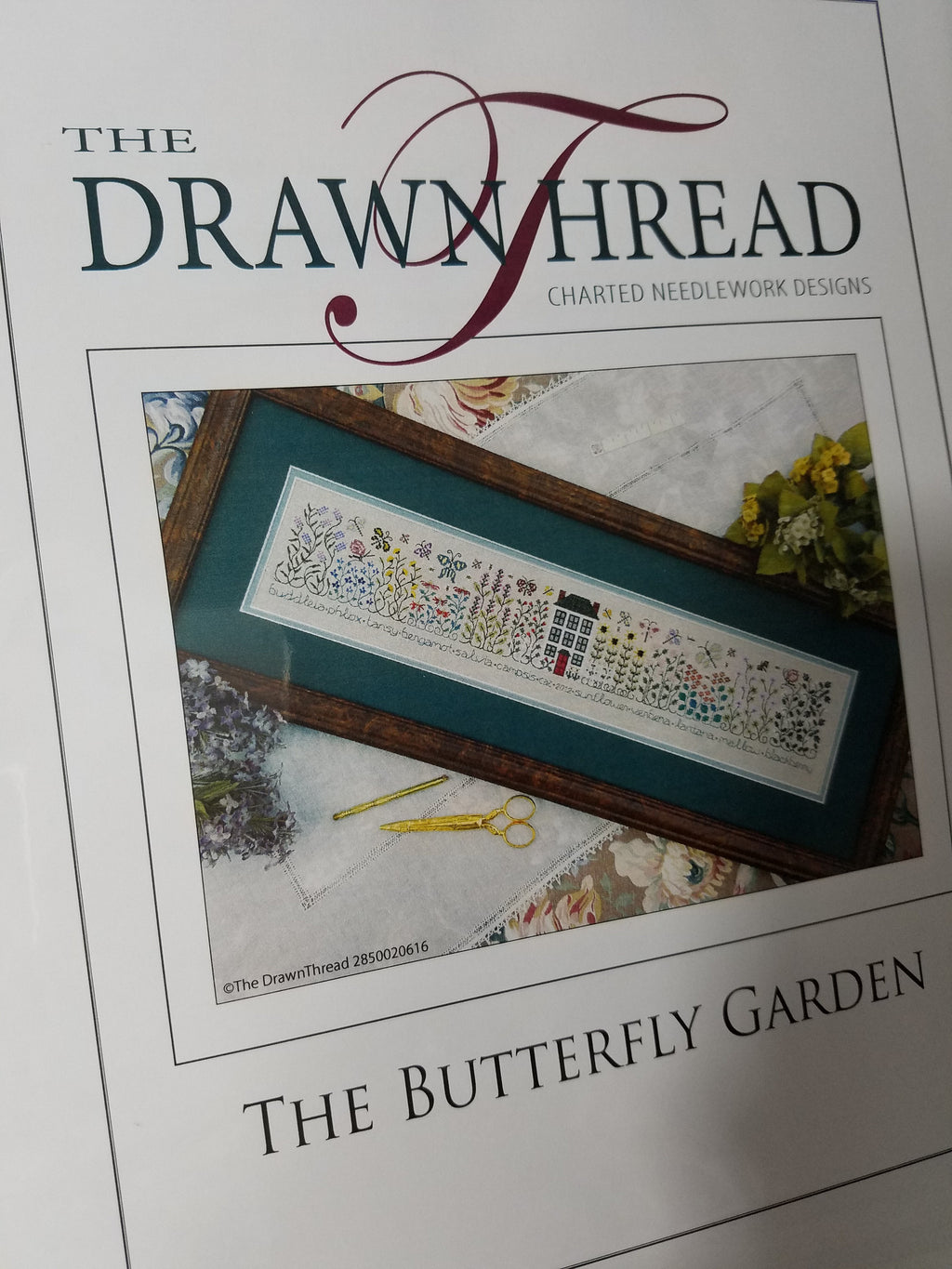 THE BUTTERFLY GARDEN ~ The Drawn Thread