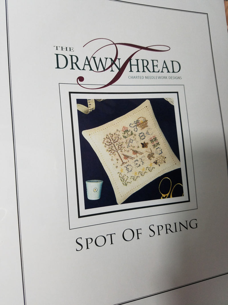 SPOT OF SPRING ~ The Drawn Thread