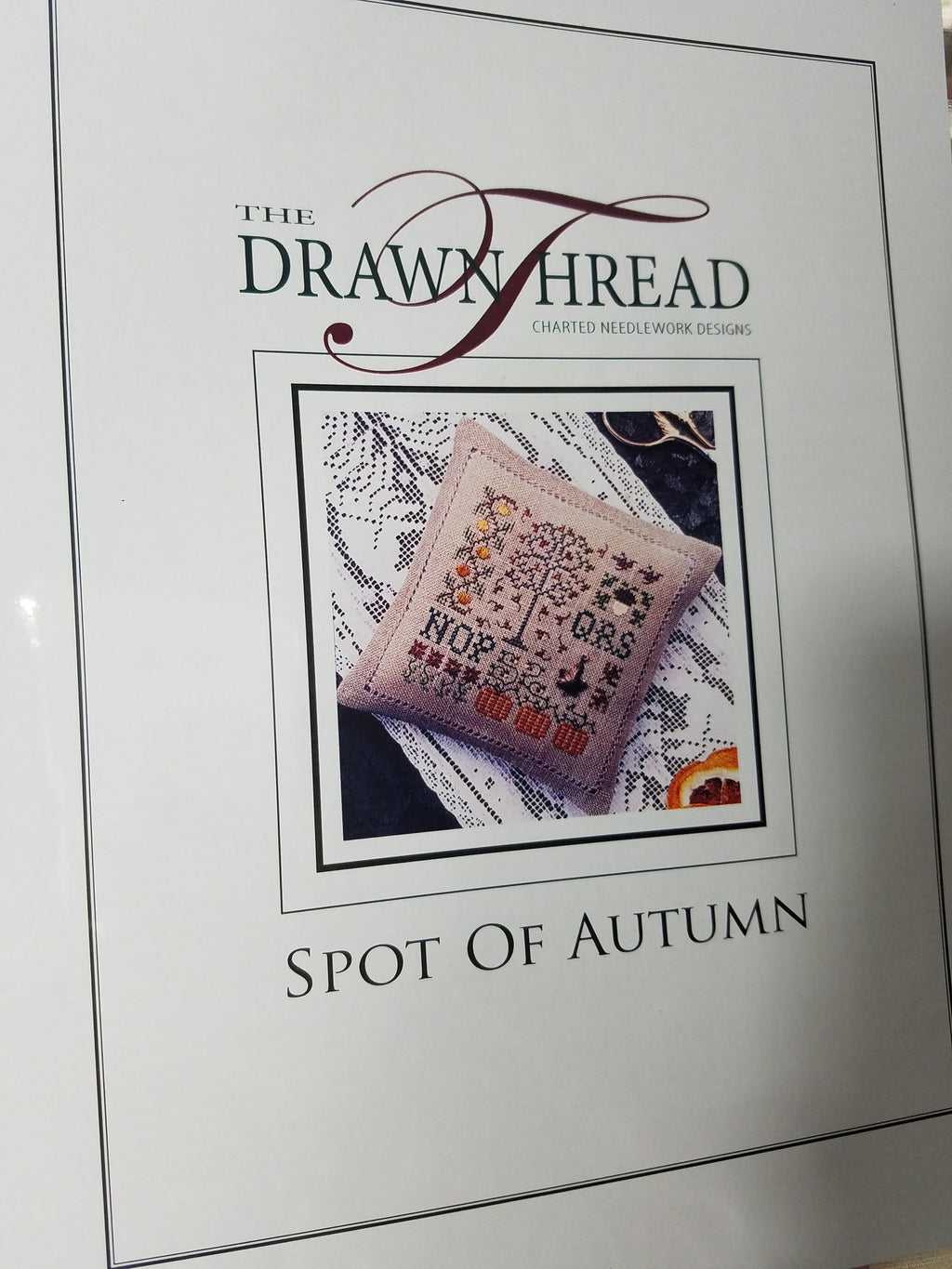 SPOT OF AUTUMN ~ The Drawn Thread