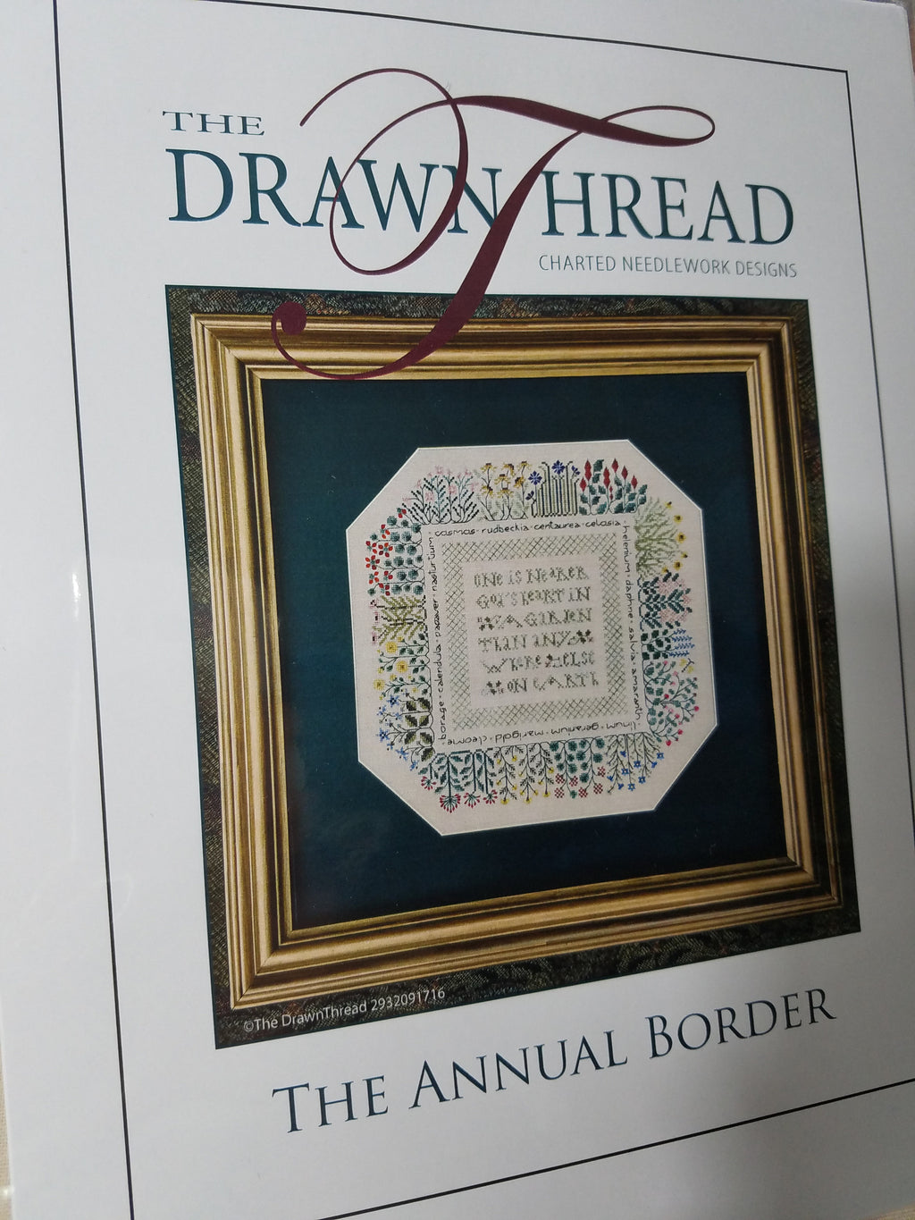 THE ANNUAL BORDER ~ The Drawn Thread