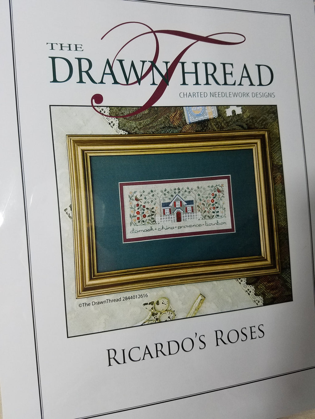 RICARDO'S ROSES ~ The Drawn Thread