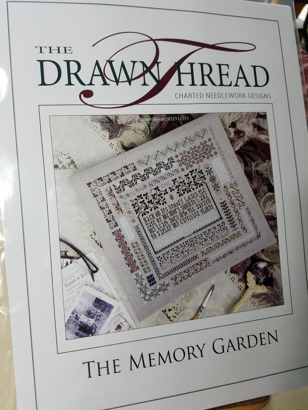 MEMORY GARDEN SCRAPBOOK ~ The Drawn Thread