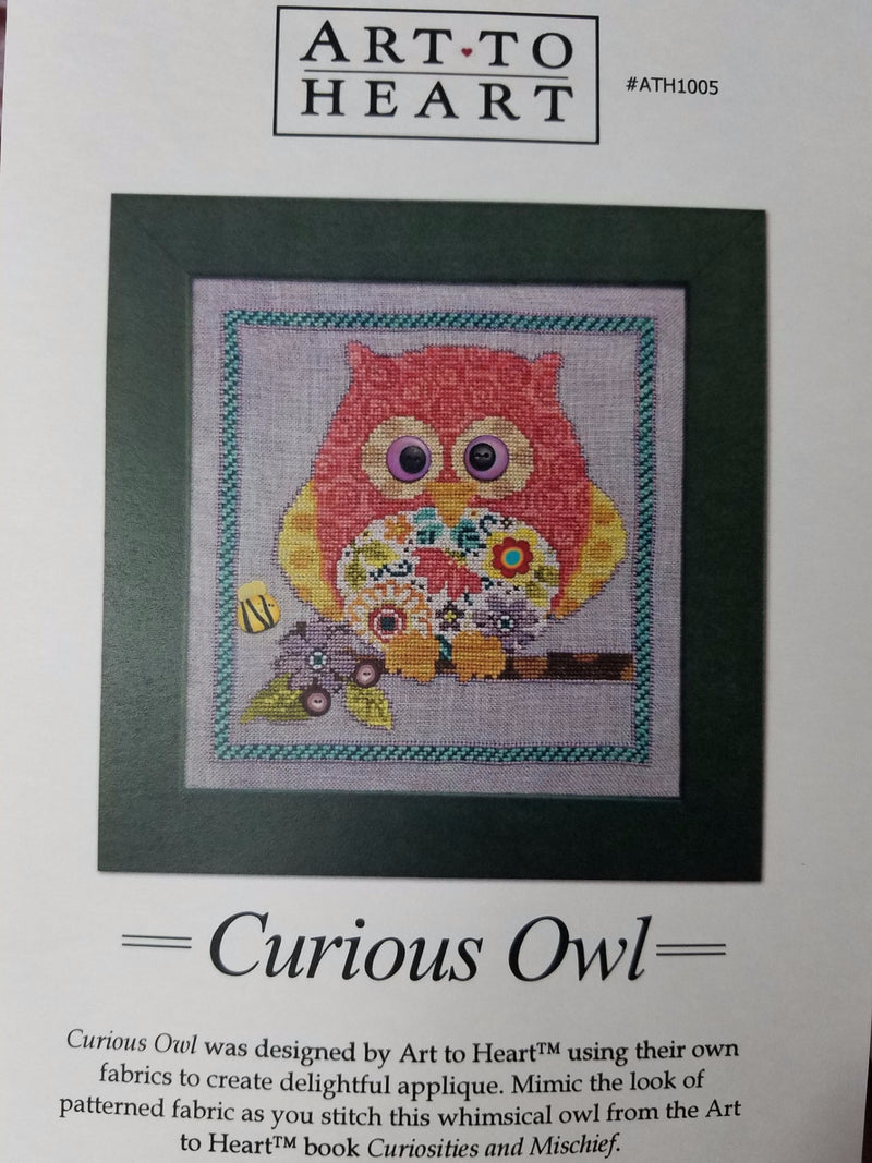 ~ Curious Owl ~ Just Another Button