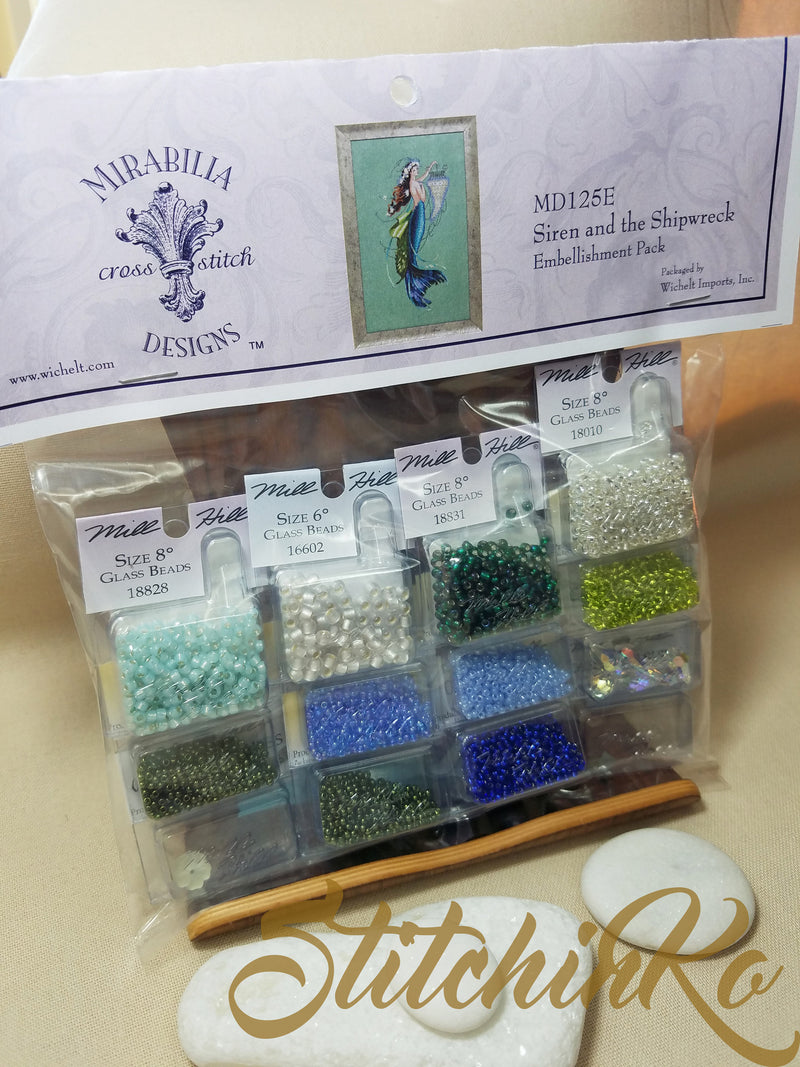 MD125E ~ Siren and the Shipwreck ~ Embellishment Pack