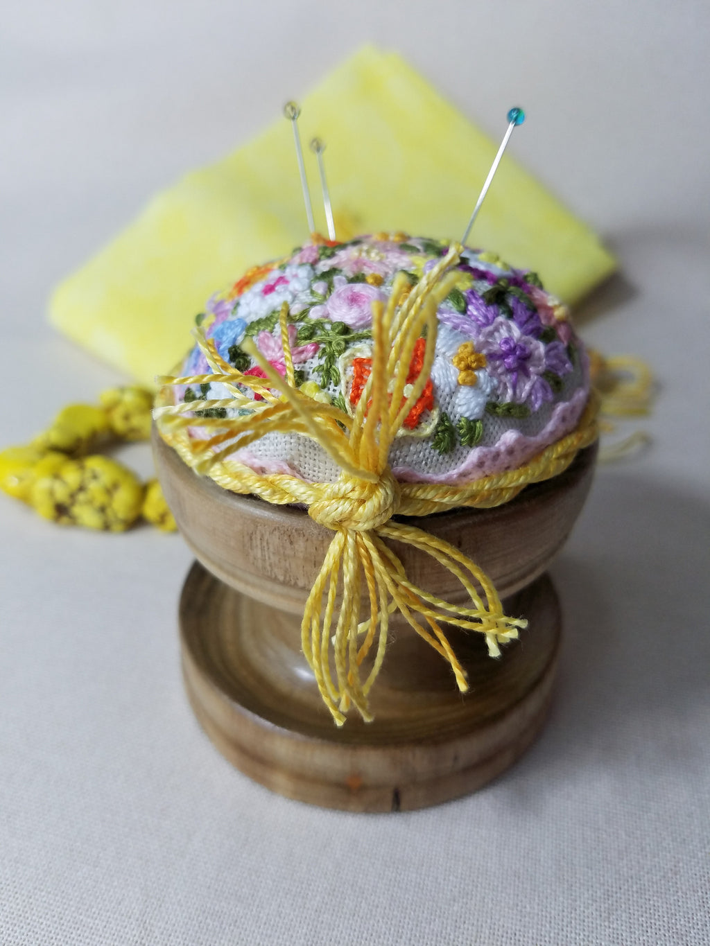 ~ Spring Time ~ Exclusive Handmade Pincushion
