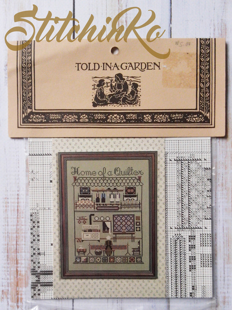TG17 ~ Home of a Quilter ~ Told In A Garden