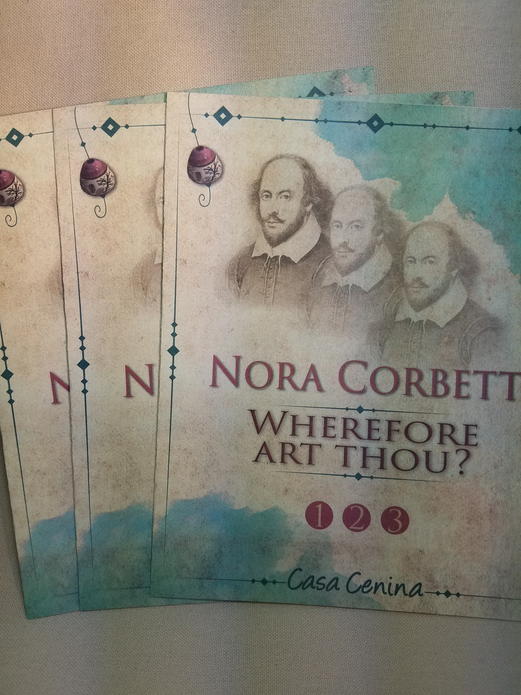 CE1 CE2 CE3 ~  Wherefore Art Thou? -  Part 1,2,3 ~ Nora Corbett