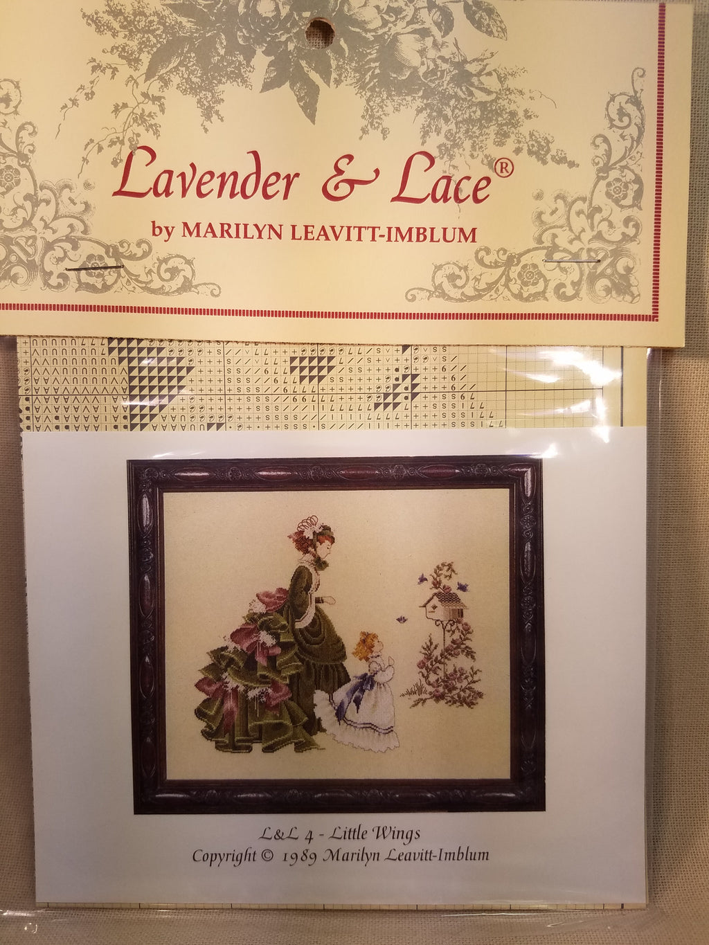 ~  LL4 ~ Little Wings ~ Lavender & Lace