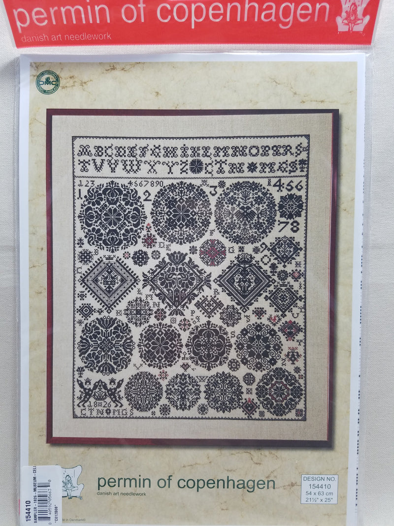 Museum Celle Sampler 1826 ~ Permin Graphs ~ 154410