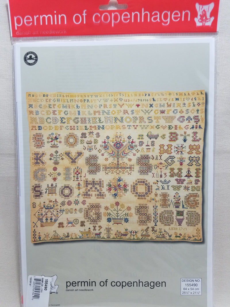 Sampler - 1761 ~ Permin Graphs ~ 155490