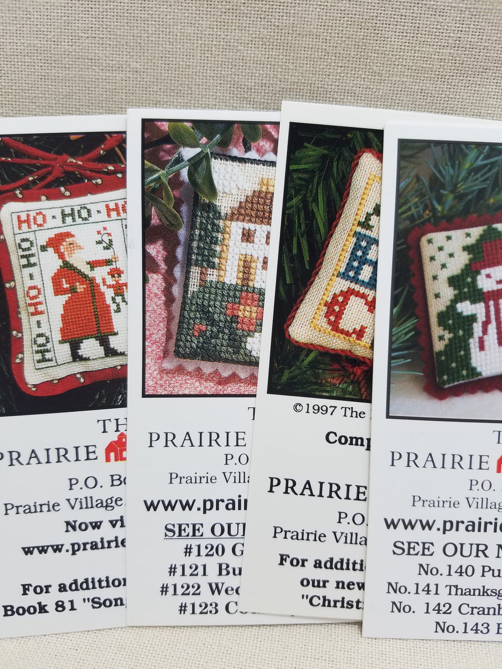 Mini-Cards - Collection B ~ Prairie Schooler
