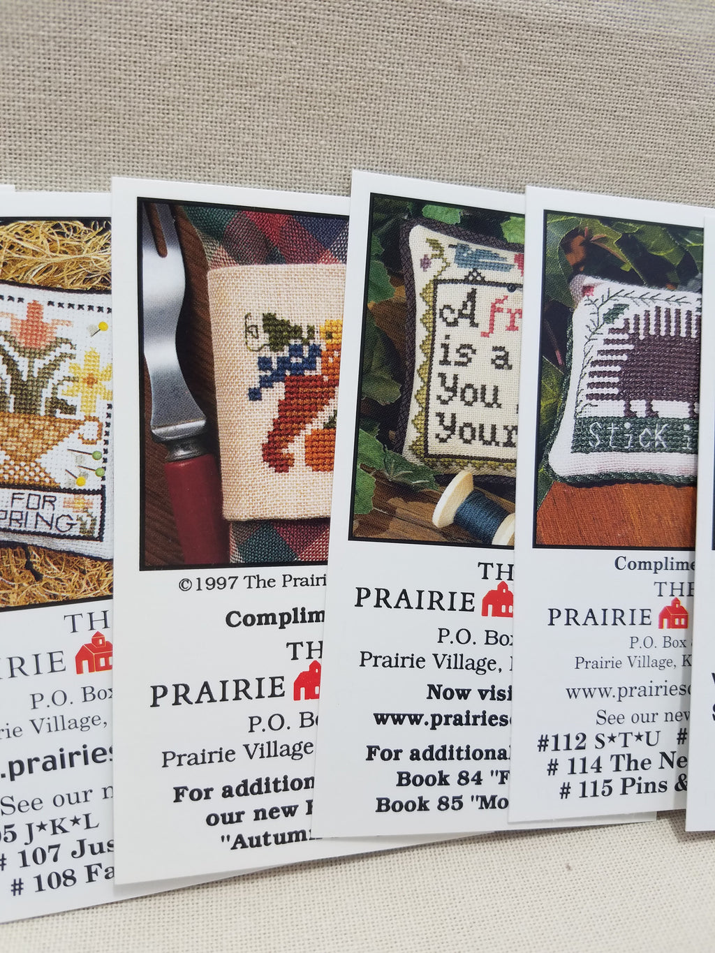 Mini-Cards - Collection A ~ Prairie Schooler