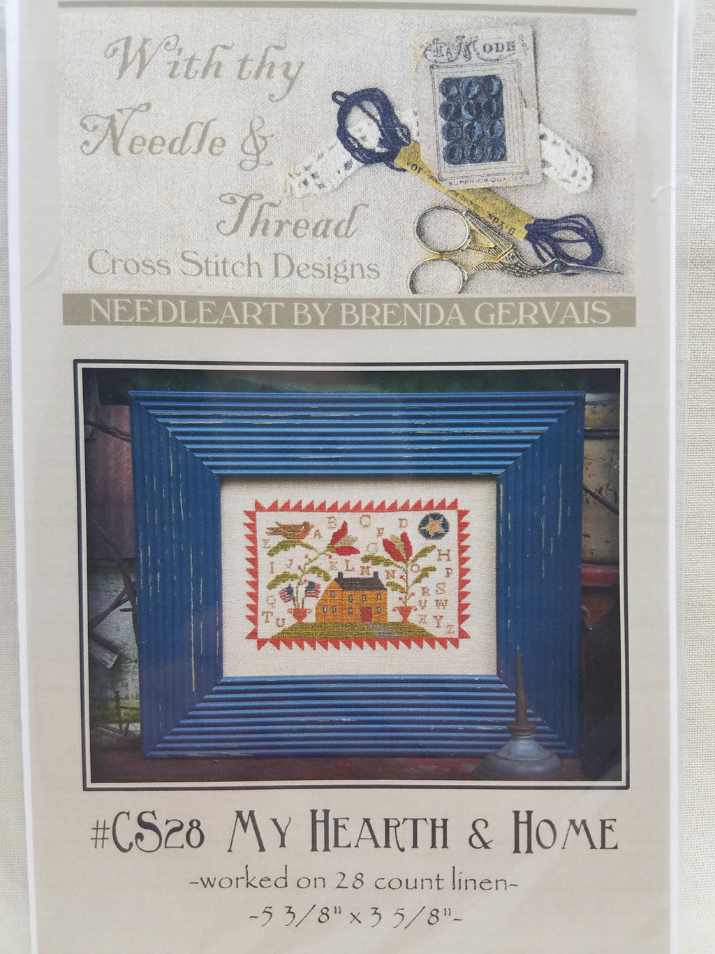 MY HEARTH & HOME ~  Country Stitches
