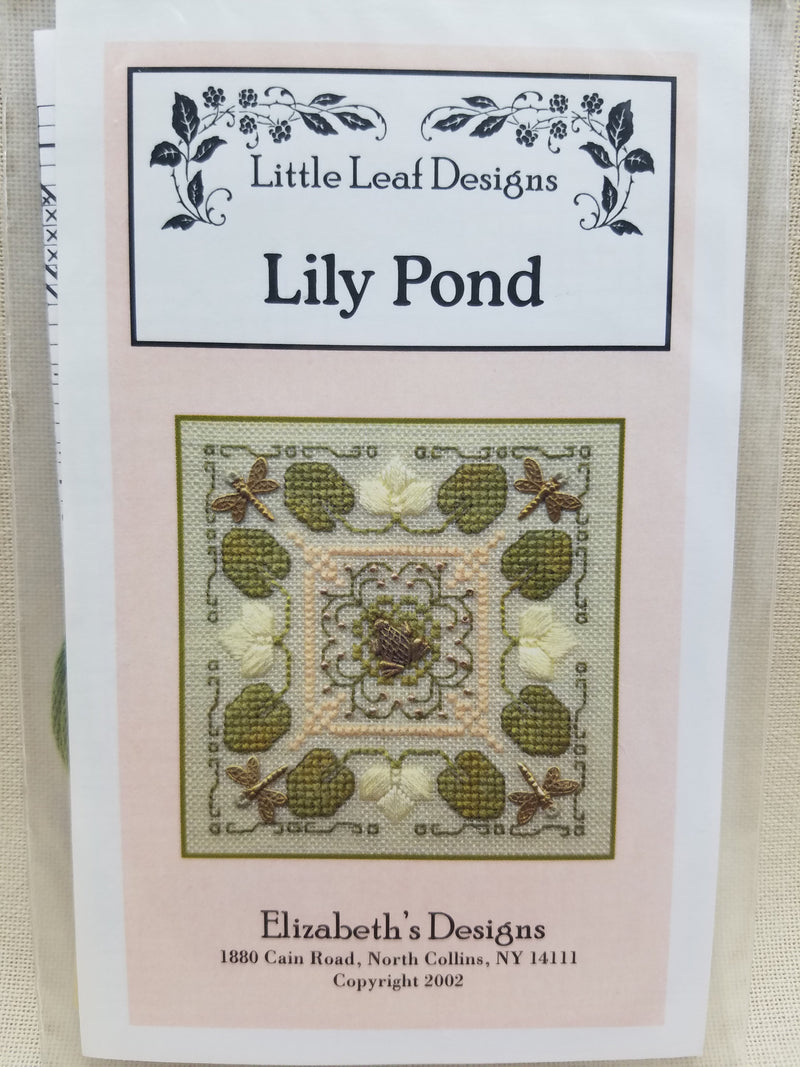 LILY POND W/CHARM & THREAD ~ Elizabeth's Designs
