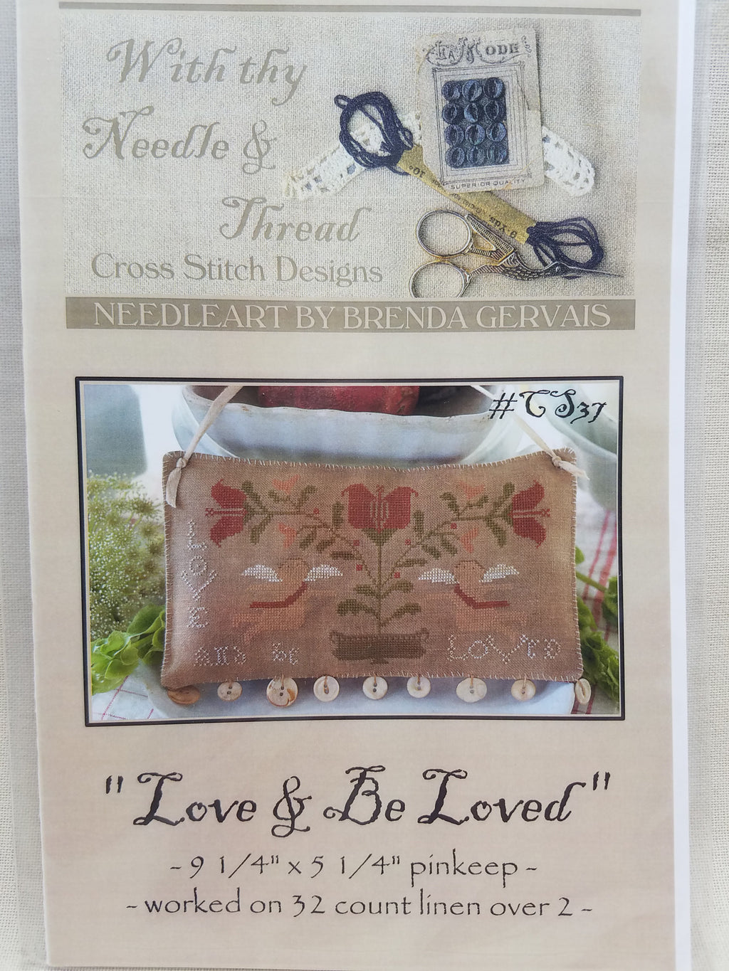 LOVE & BE LOVED ~  Country Stitches