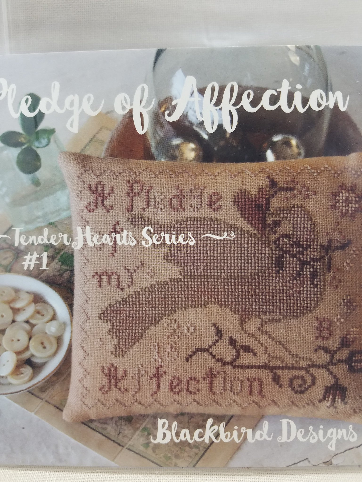 Pledge Of Affection 1 In Tender Heart Series Cross Stitch