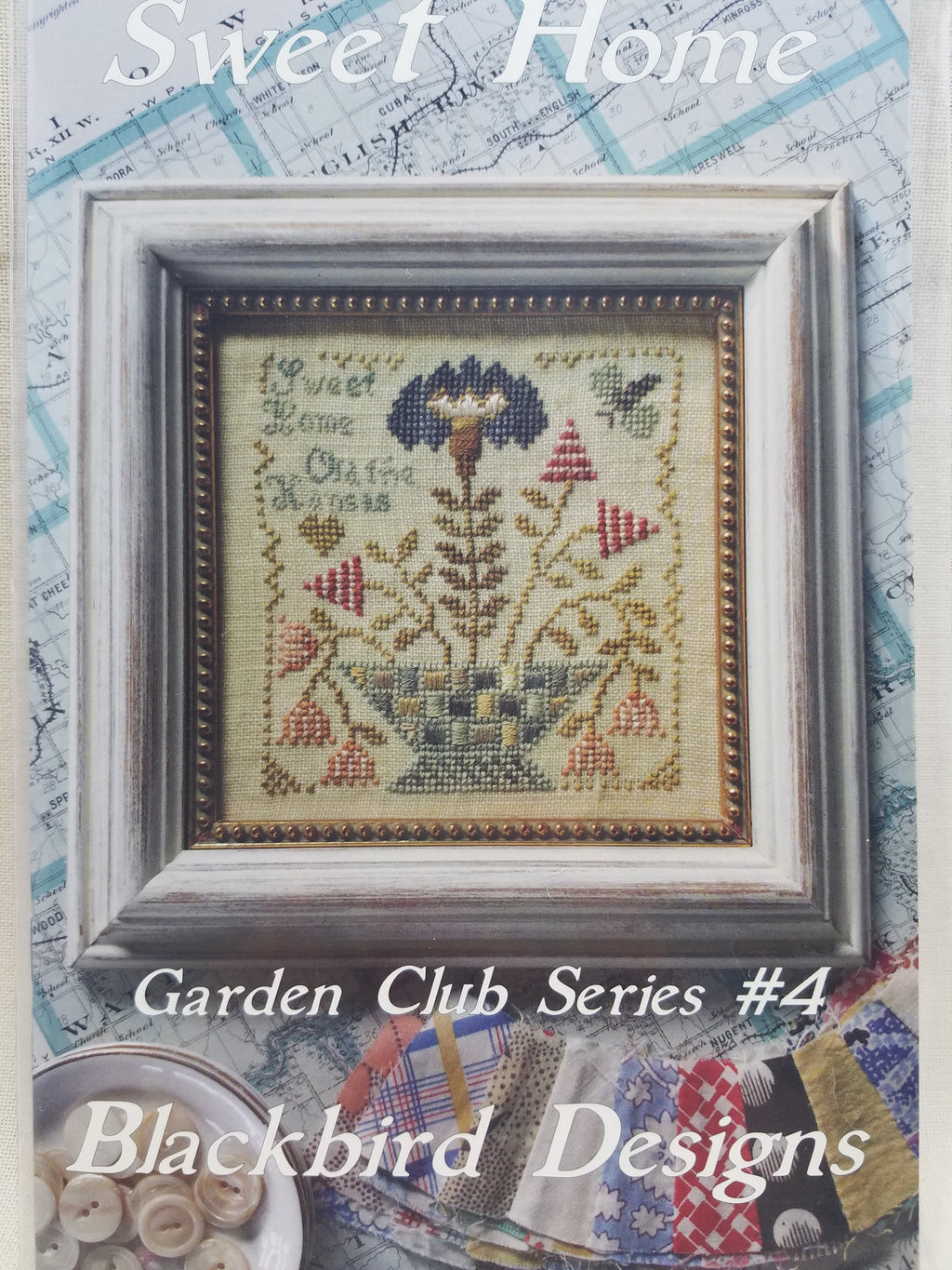 Garden Club Series #4 ~ Sweet Home ~ Blackbird Designs
