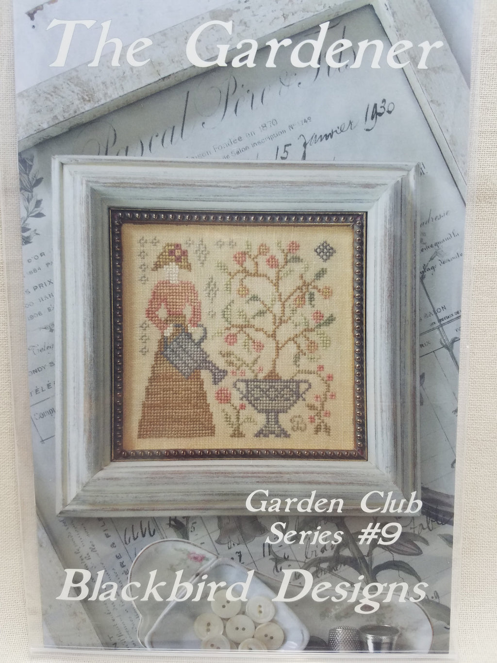 Garden Club Series #9 ~ Gardener ~ Blackbird Designs