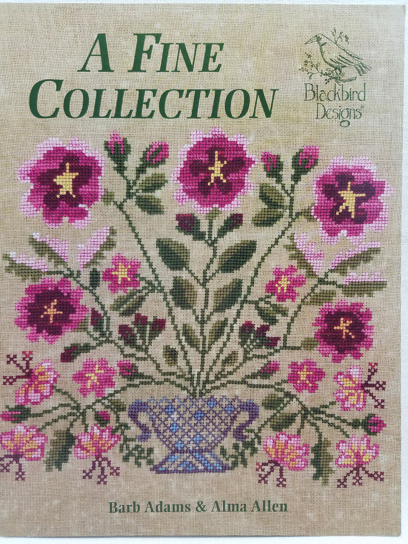 A Fine Collection - Cross Stitch Pattern by Blackbird Designs