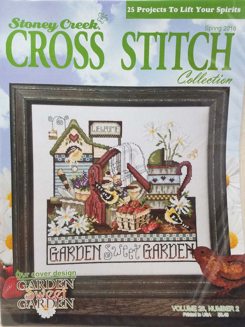 Stoney Creek Cross Stitch Collection ~ 2016 Spring Volume 28, Number 2