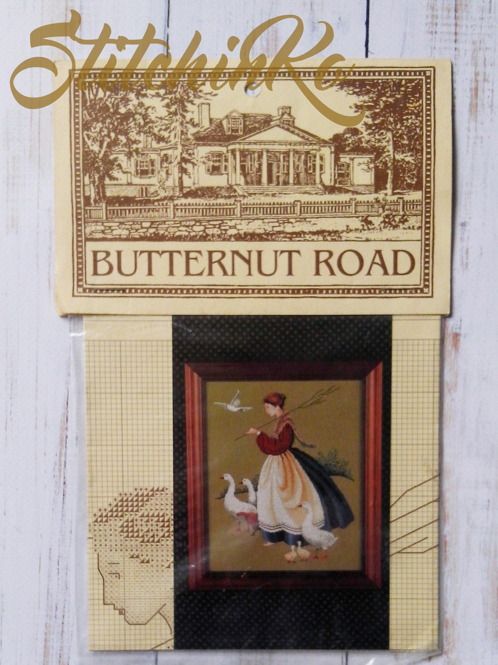 BR1 ~ Feathers & Friends ~  Butternut Road