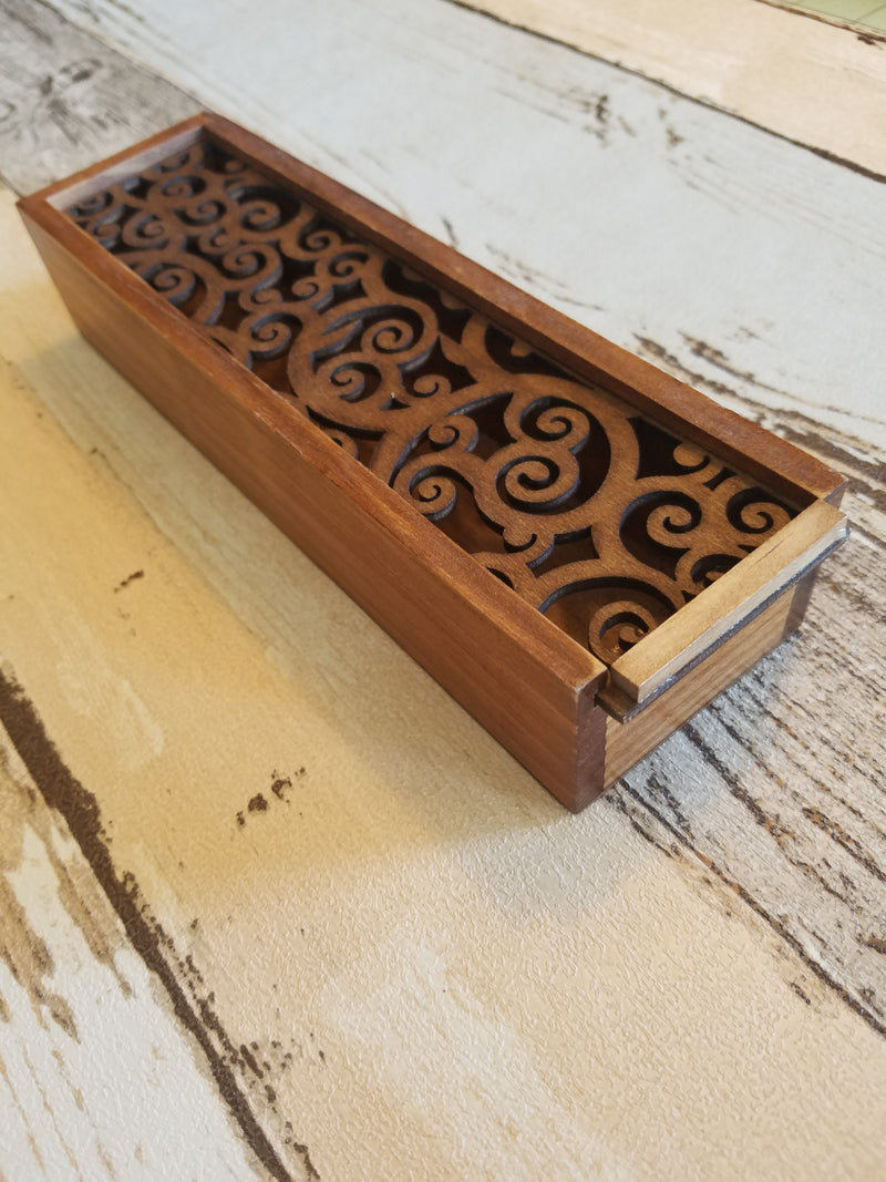 Wooden Carved  Case Box Two