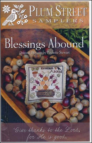 Blessings Abound ~ Plum Street Samplers