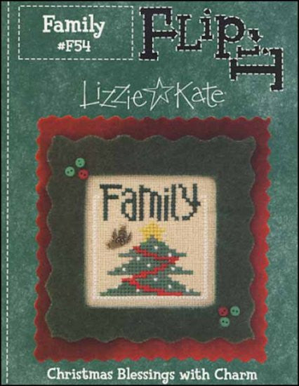 Flip It Christmas Blessings: Family ~ Lizzie Kate