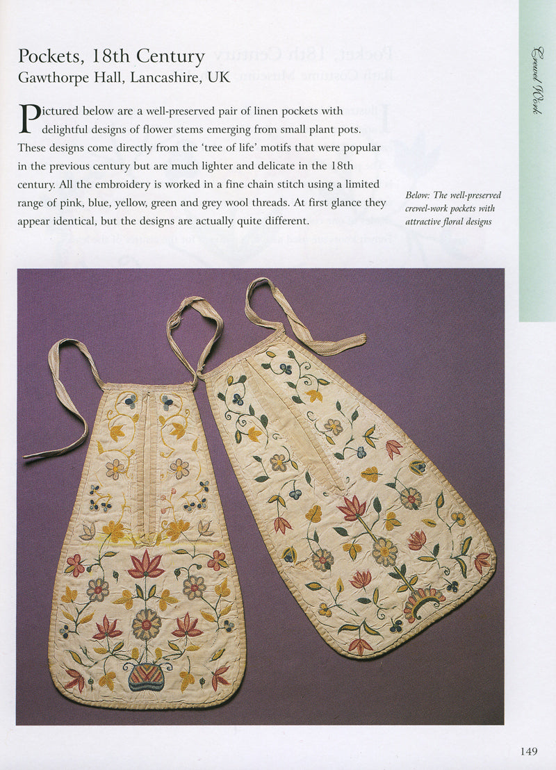 18th Century Embroidery Techniques ~ Gail Marsh