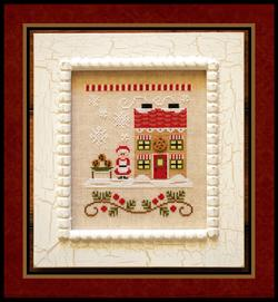 Santa's Village - 4 Mrs. Claus' Cookie Shop ~ Country Cottage Needleworks