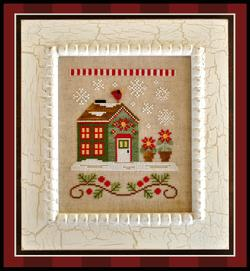 Santa's Village - 2 Poinsettia Place ~ Country Cottage Needleworks