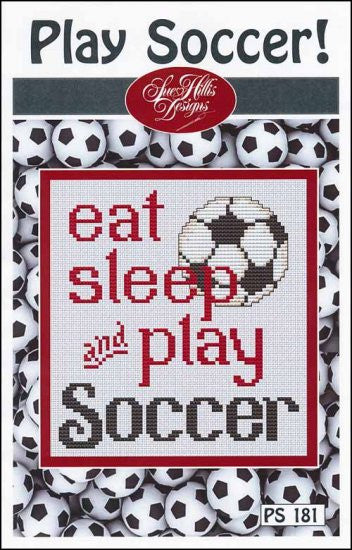 Play Soccer, Pack of 3 ~ Sue Hillis Designs
