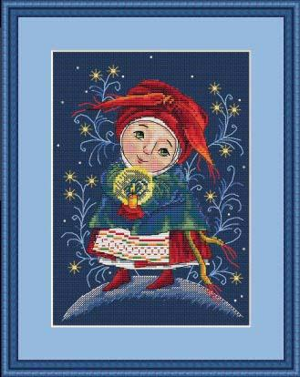 Merejka Cross Stitch Kits  - CHRISTMAS LIGHT