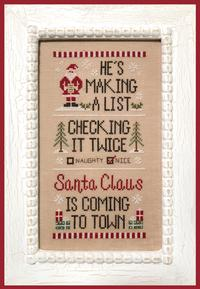 Santa's List ~ Country Cottage Needleworks