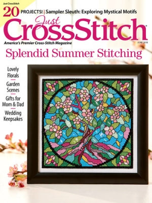 Just Cross Stitch Magazine ~ May/June 2018