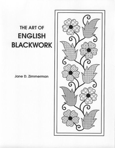 Art of English Blackwork ~  Jane Zimmerman