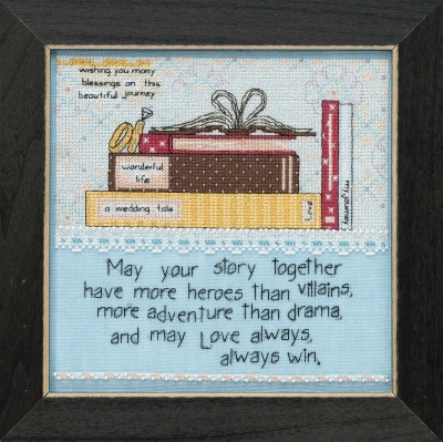 Your Story (Curly Girl Design) - Mill Hill Kit CG301814