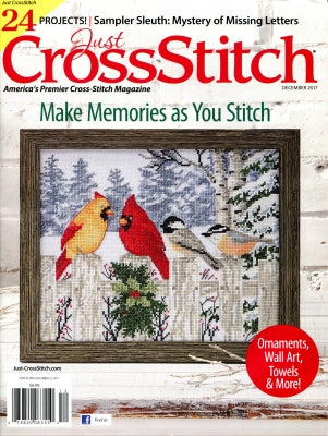 Just Cross Stitch Magazine ~ November/December 2017