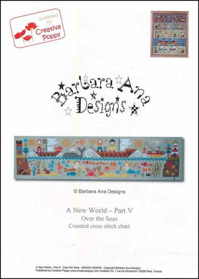 New World: Part 5 Over The Seas ~ Barbara Ana Designs