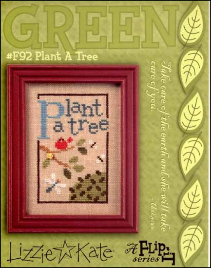 Green Flip It: Plant  A Tree ~ Lizzie Kate