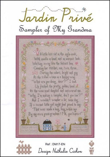 SAMPLER OF MY GRANDMA ~ Jardin Prive