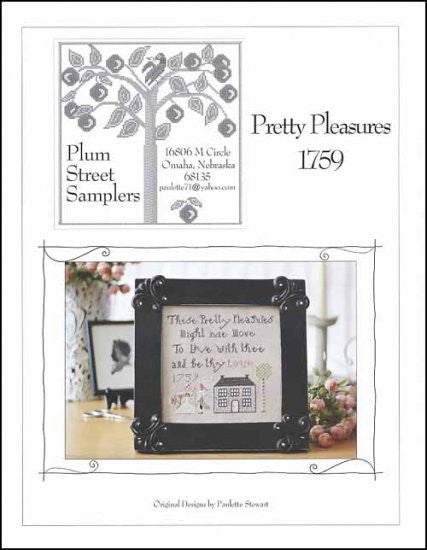 Pretty Pleasures 1759 ~ Plum Street Samplers