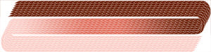 321 Dark Burnt Sienna, Sienna & Pale Russet ~ VARIEGATED COLORS ~ EdMar