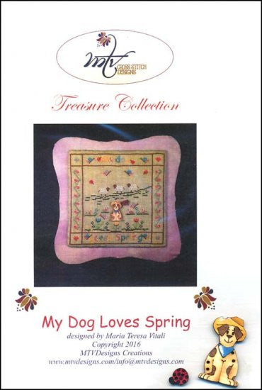 My Dog Loves Spring ~ MTV Designs