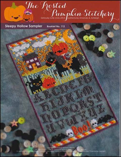 Sleepy Hollow Sampler ~  The Frosted Pumpkin Stitchery