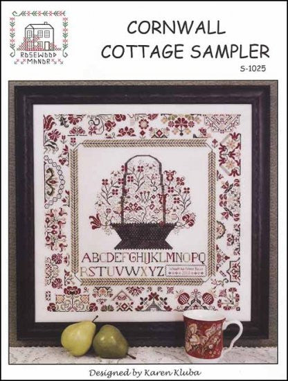 Cornwall Cottage Sampler ~ Rosewood Manor (M)