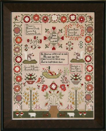 Susan Rambo Sampler ~ Cross-Point Designs