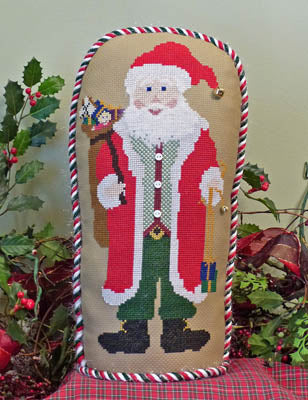 Holiday Stand-Up Santa ~ Stitchworks, The