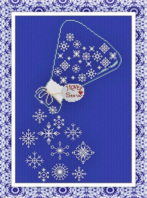 Snow Bottle ~ Alessandra Adelaide Needleworks